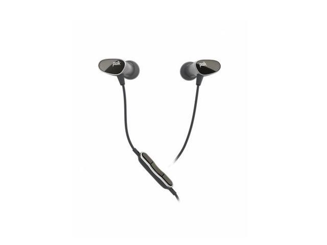 Polk Audio Nue Era In-Ear Headphones with In-Line Mic and Controls (Black)