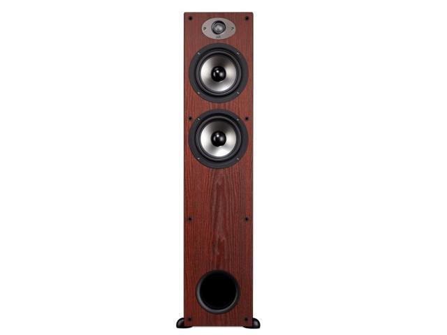Polk Audio TSx330T High Performance 3-Way Floorstanding Speaker - Each (Cherry)