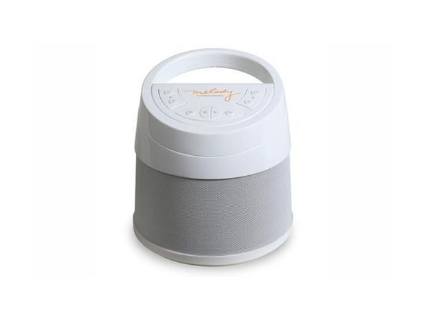 Soundcast Melody Portable Wireless All-Weather Bluetooth Speaker (White)