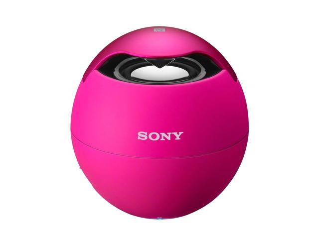 Sony SRS-BTV5/PINK Wireless Mobile Bluetooth Speaker with Built-In Mic (Pink)