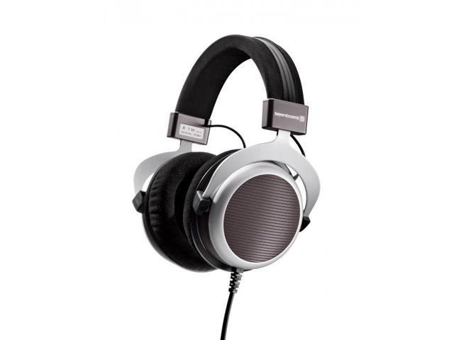 Beyerdynamic T 90 Premium Tesla Hi-Fi Open Design Over-Ear Headphones (Black/Silver/Brown)