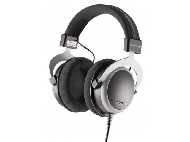 Beyerdynamic T 70p Premium Tesla Hi-Fi Closed Design Over-Ear Headphones (Black/Silver)