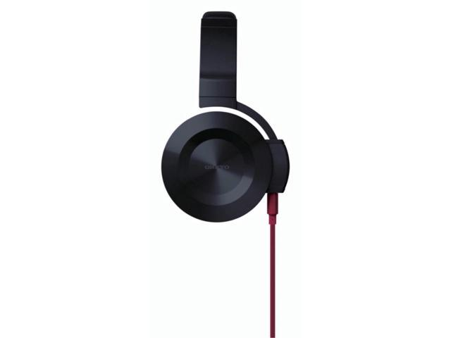 Onkyo ES-FC300(R) On-Ear Headphones (Black/Red)