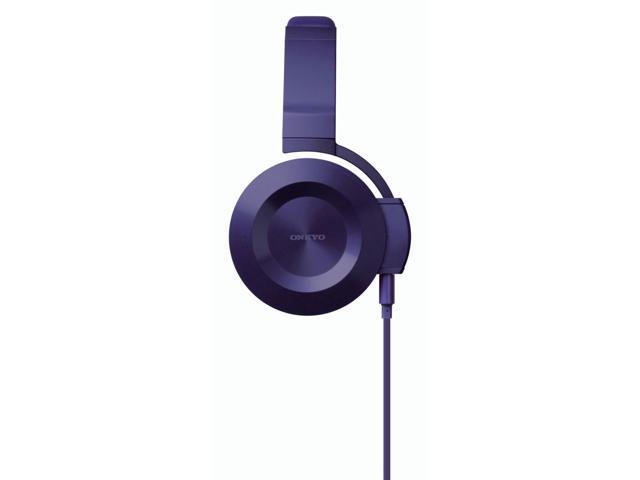 Onkyo ES-FC300(V) On-Ear Headphones (Violet)