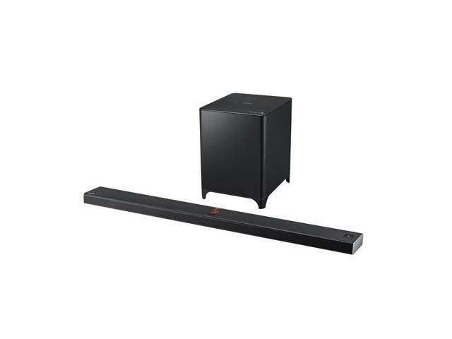 Samsung HW-F850 2.1 Channel Bluetooth Soundbar System with Vacuum Tubes and Wireless Actuive Subwoofer (Black)