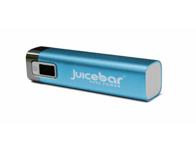 JuiceBar PalmPro LED Tube Battery Backup USB Charging Device (Blue)