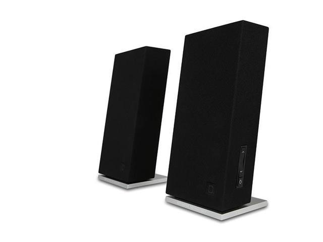 Definitive Technology Incline Desktop Computer Speaker with DAC - Pair (Black)