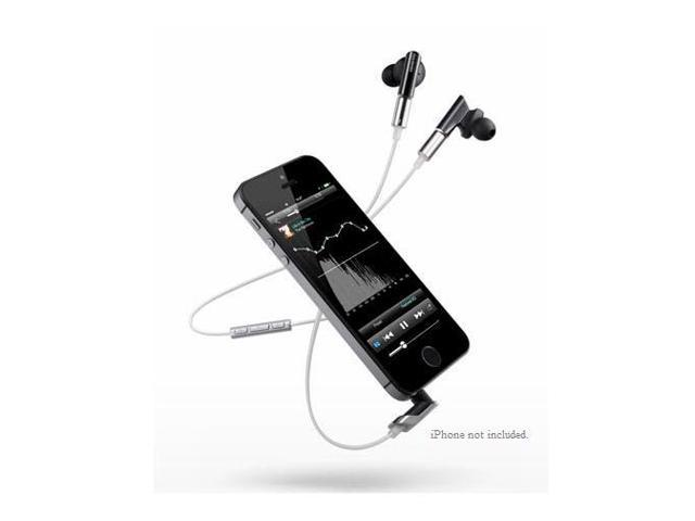Onkyo IE-CTI300 In-Ear Headphones with In-Line Apple Controls and Mic (Black)