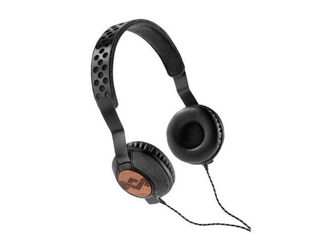 House of Marley EMJH073MI Liberate On-Ear Headphones - Midnight (Black)