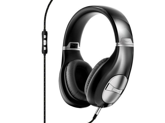 Klipsch STATUS Over-Ear Headphones with Remote + Mic (Black)