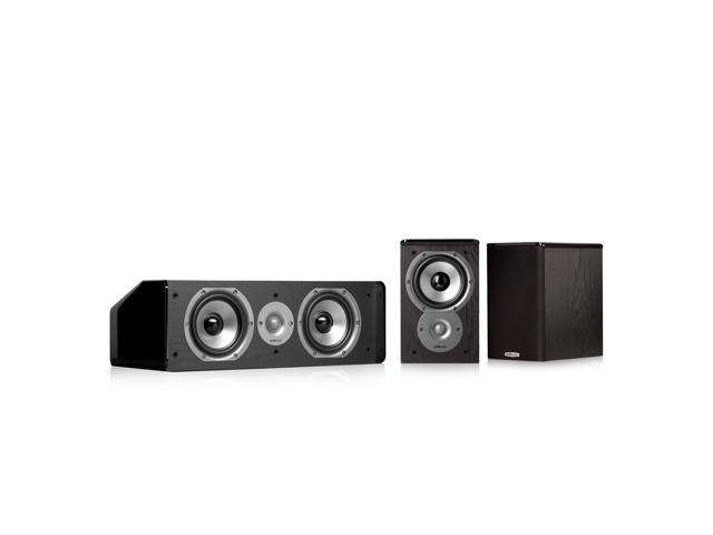 Polk Audio TSi100 3.0 Home Theater Speaker Bundle (Black)