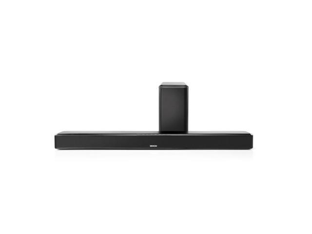 Denon DHT-S514 Home Theater Soundbar Speaker System with Wireless Subwoofer (Black)