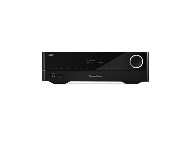 Harman Kardon HK 3700 2-Channel USB Stereo Receiver (Black)