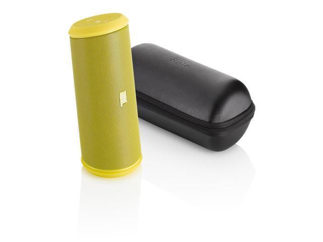 JBL Flip 2 Portable Wireless Bluetooth Speaker with Powerbank Built-In Mic - Yellow
