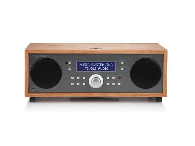 Tivoli Audio Music System Two Wireless Bluetooth Speaker (Cherry/Metallic)