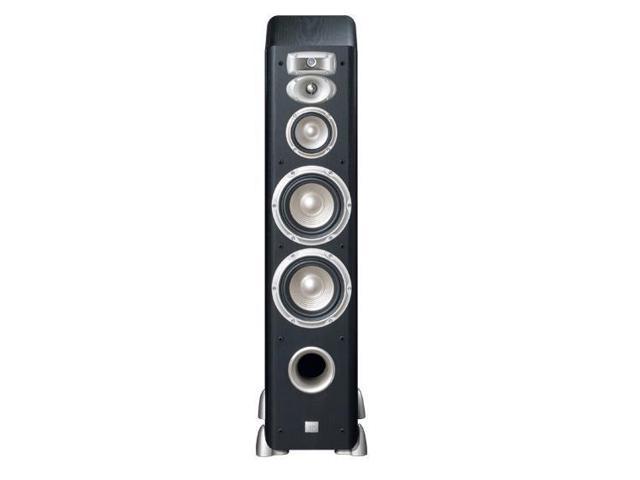 """JBL L880 4-Way Dual 6"""" Floorstanding Loudspeaker - Each (Black Ash)"""