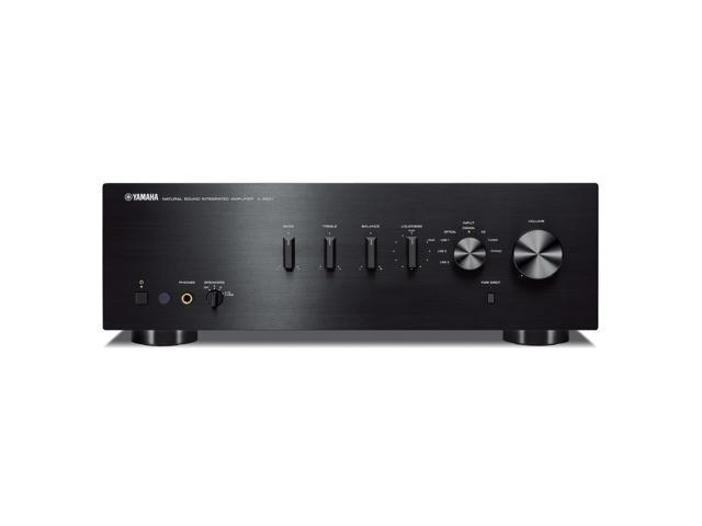 yamaha a s501 integrated amplifier black. Black Bedroom Furniture Sets. Home Design Ideas
