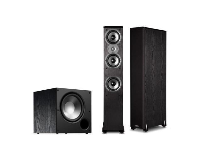 Polk Audio TSi400 2.1 Home Theater Speaker Package (Black)