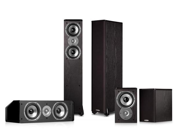 Polk Audio TSi300 5.0 Home Theater Speaker Package (Black)