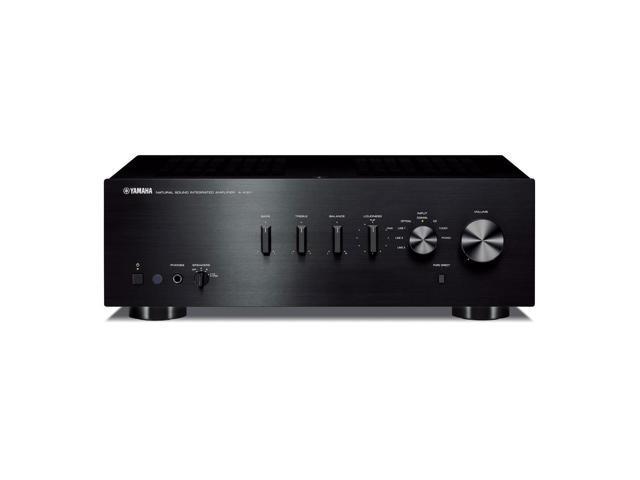 yamaha a s301 integrated amplifier black. Black Bedroom Furniture Sets. Home Design Ideas