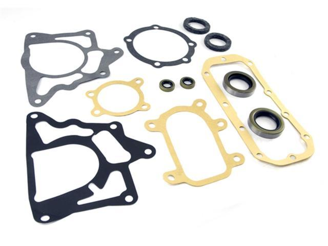 Omix-ada This transfer case gasket and seal kit from Omix-ADA fits 41-71 Willys and Jeep models with a Dana 18 transfer case. 18603.01