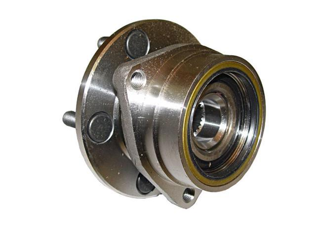 Omix-ada This front axle hub assembly from Omix-ADA fits 84-89 Jeep XJ Cherokees and 87-89 YJ Wranglers, Fits the left or right side. 16705.06