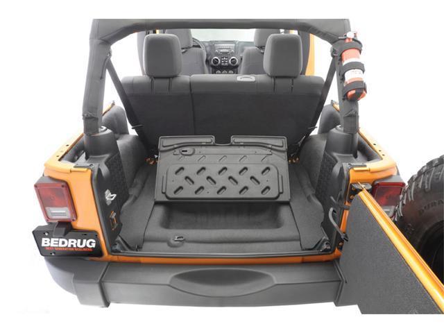 BedRug BTJK07R4 BedTred; Cargo Kit Fits 07-10 Wrangler (JK)