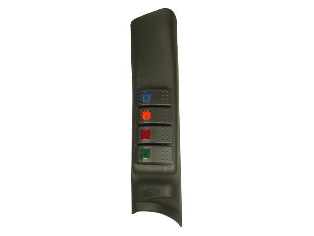 Daystar KJ71044BK A-Pillar Switch Pod 07-10 Wrangler (JK)