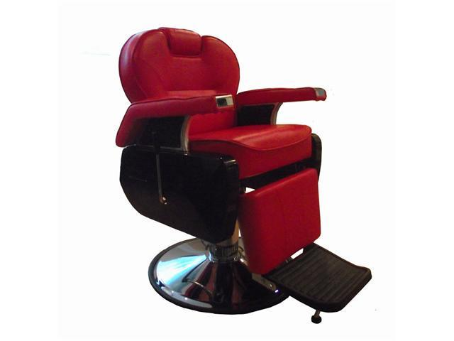 New BestSalon Red All Purpose Hydraulic Recline Barber Chair Salon Spa R
