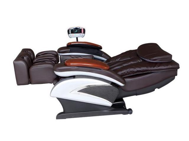 bestmassage bmec06c electric full body shiatsu massage chair recliner with stretched foot rest - Massaging Chair