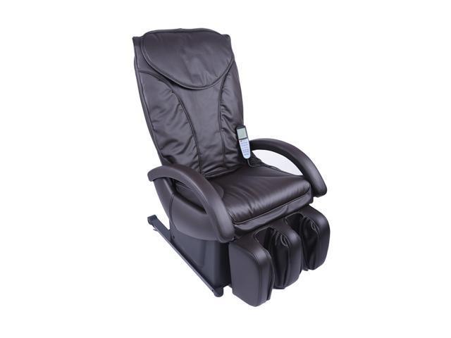 New Full Body Shiatsu Brown Massage Chair Recliner Bed EC