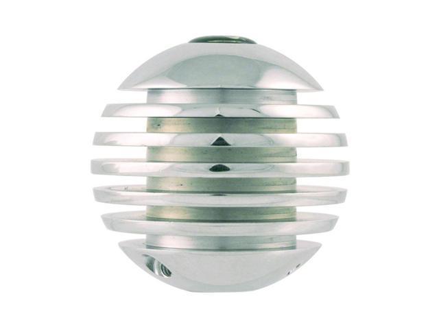 Stripe Sphere Chrome Ball Knob Manual Transmission Shifter Shifting
