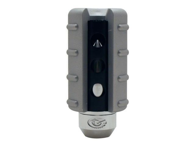 Stealth Missile Black Silver & Chrome Shift Knob Manual Transmission Shifter