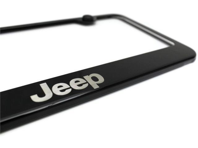 jeep black license plate frame stainless steel metal powder laser etch. Cars Review. Best American Auto & Cars Review