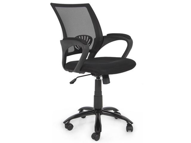 Ergonomic Mesh Midback Computer Office Task Chair w/ Metal Base