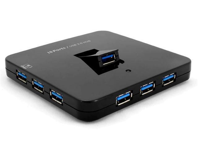 Sedna Desktop 10-Port USB 3.0 Hub with iPad Port