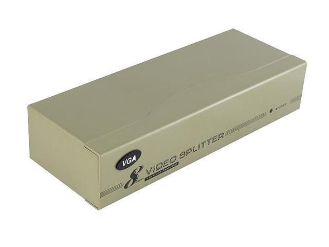 SEDNA - VGA  8 Port Video Splitter (250MHz)