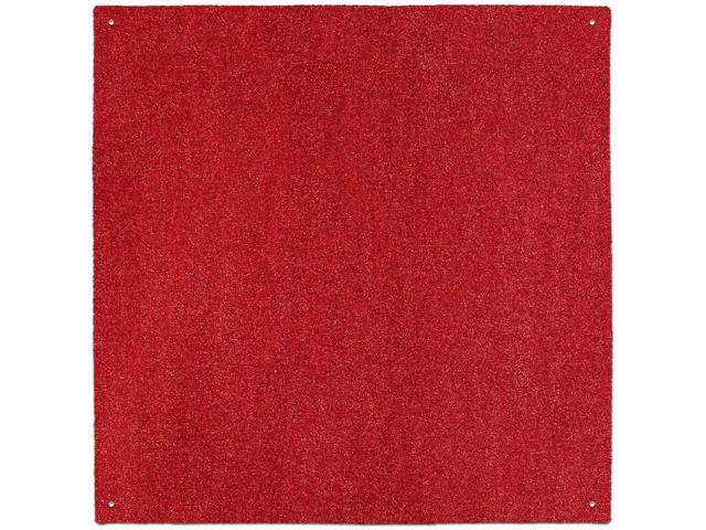 Outdoor Turf Rug - Red - Several Other Sizes to Choose From