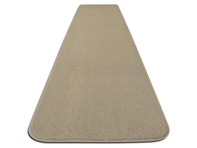 Skid-resistant Carpet Runner - Ivory Cream - Many Other Sizes to Choose From