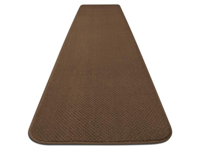 Skid-resistant Carpet Runner - Toffee Brown - Many Other Sizes to Choose From