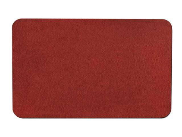 Skid-resistant Carpet Area Rug Floor Mat - Brick Red - Many Other Sizes to Choose From