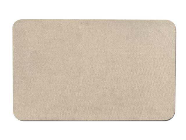 Skid-resistant Carpet Area Rug Floor Mat - Ivory Cream - Many Other Sizes to Choose From