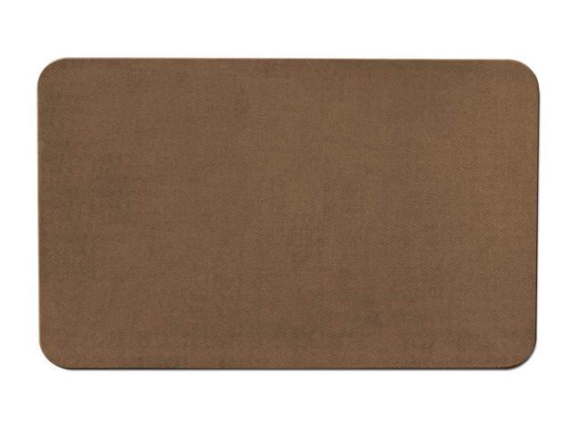 Skid-resistant Carpet Area Rug Floor Mat - Toffee Brown - Many Other Sizes to Choose From