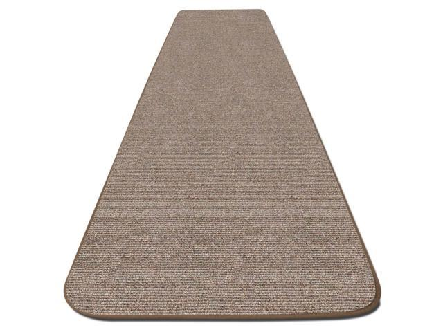 Skid-resistant Carpet Runner - Pebble Beige - Many Other Sizes to Choose From
