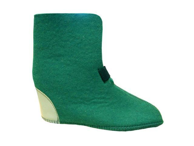 Boot Liners 626Y Green, 10