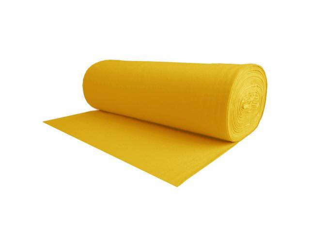 100% Wool Craft Felt Dark Yellow 1.2MM Thick X 72IN Wide