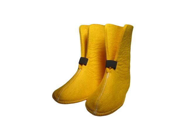 Boot Liners 626Y Yellow, 10