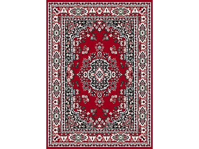 Home Dynamix Area Rugs: Premium Rug: 7069: Claret Red 1'10