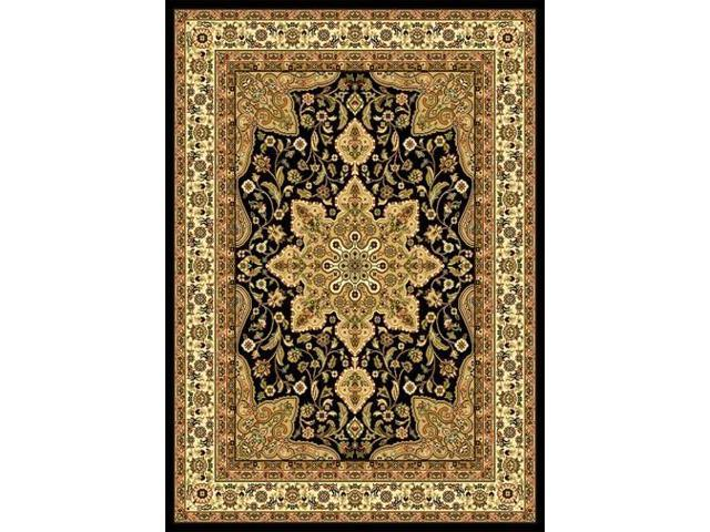 Home Dynamix Area Rugs: Royalty Rug: 8083: Black 7'8