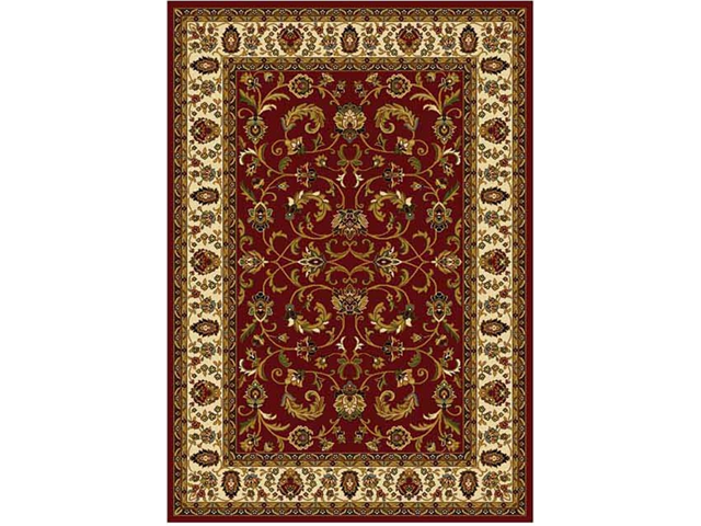 Home Dynamix Area Rugs: Royalty Rug: 3208-215 Red Ivory 7'8